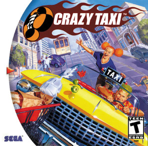 Complete Crazy Taxi  - Dreamcast Game