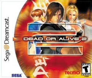 Complete Dead Or Alive 2  - Dreamcast Game