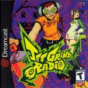 Jet Grind Radio - Dreamcast Game