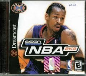 NBA 2K2  - Dreamcast Game