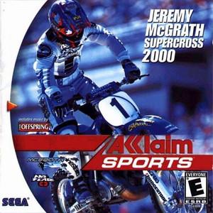 Complete Jeremy McGrath Supercross 2000 - Dreamcast Game