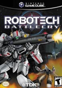ROBOTECH BATTLECRY - GameCube Game