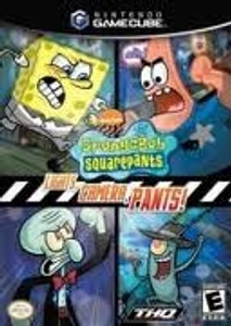 SPONGEBOB SQUAREPANTS Lights,Camera -GameCube Game