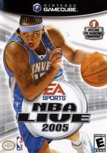 NBA Live 2005 - GameCube Game