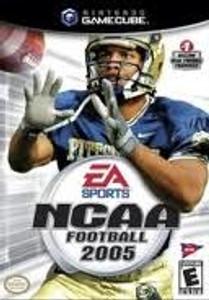 NCAA Football 2005 - GameCube Game