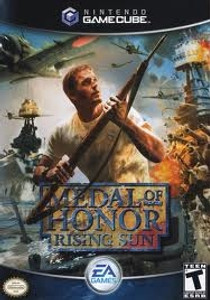 Medal of Honor Rising Sun - GameCube Game