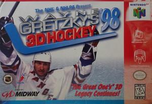 Complete Wayne Gretzkys 3D Hockey 98 - Nintendo N64