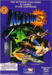 Complete Action 52 (52 Games IN 1) - NES