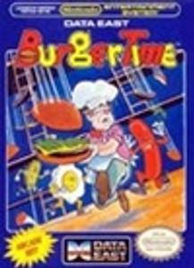 Complete Burgertime - NES