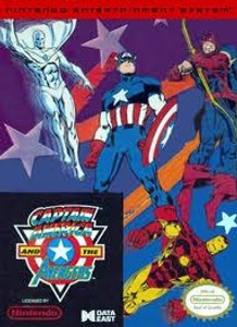 Complete Captain America and The Avengers - NES