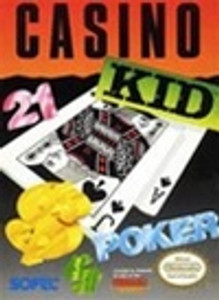 Complete Casino Kid Poker - NES