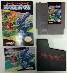 Cyber Stadium Base Wars - Complete NES GameComplete Cyber Stadium Series: Base Wars - NES