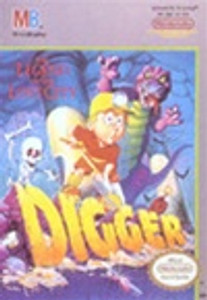 Complete Digger T. Rock - NES