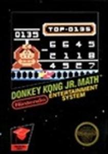 Complete Donkey Kong Jr. Math - NES