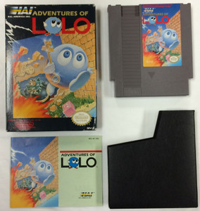 Adventures of Lolo - Complete NES GameComplete Adventures of Lolo - NES