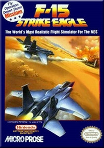 Complete F15 Strike Eagle - NES