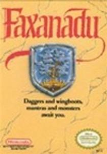Complete Faxanadu - NES