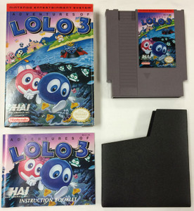 Adventures of Lolo 3 - Complete NES GameComplete Adventures of Lolo 3 - NES