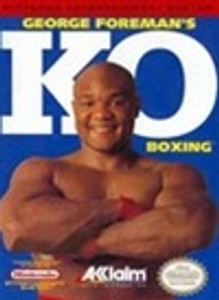 Complete George Foreman's KO Boxing - NES