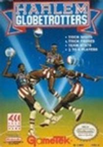 Complete Harlem Globetrotters 4Play Game - NES