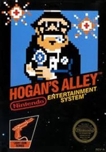 Complete Hogan's Alley Light Gun Game - NES