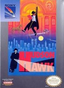 Complete Hudson Hawk - NES