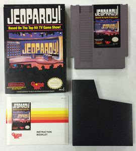 Jeopardy - NES GameComplete Jeopardy! - NES