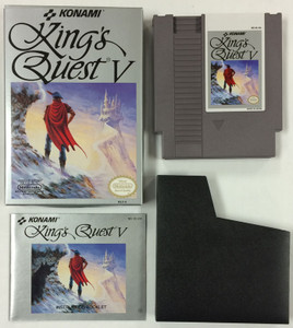 Kings Quest V - Complete NES GameComplete King's Quest V - NES