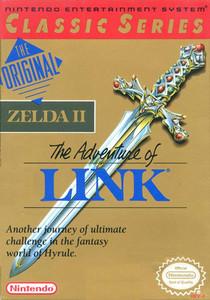 Adventure of Link, Legend of Zelda II - NES Box