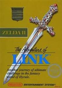 Complete Adventure of Link Gold - NES