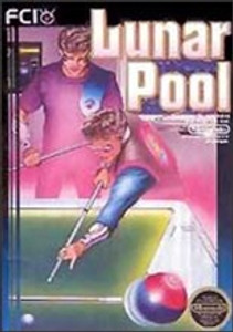 Complete Lunar Pool - NES