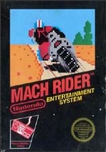 Complete Mach Rider - NES