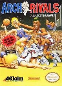 Complete Arch Rivals Basketbrawl - NES