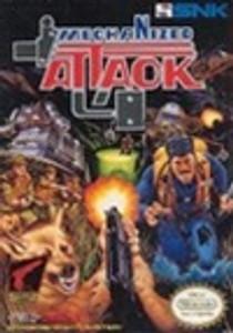 Complete Mechanized Attack Light Gun Game - NES
