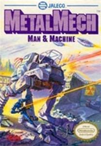 Complete Metal Mech:Man & Machine - NES