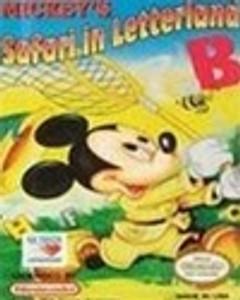 Complete Mickey's Safari in Letterland - NES