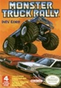 Complete Monster Truck Rally 4 Player Game - NES