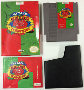 Attack of the Killer Tomatoes - Complete NES GameComplete Attack of The Killer Tomatoes - NES
