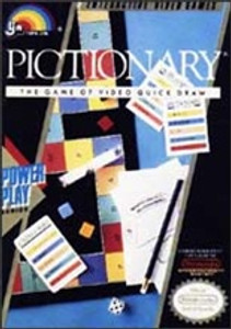 Complete Pictionary - NES
