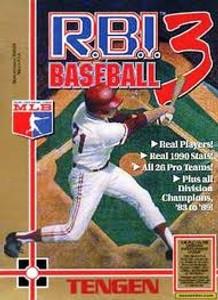 Complete R.B.I. Baseball 3 - NES