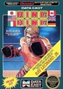 Complete Ring King Boxing - NES