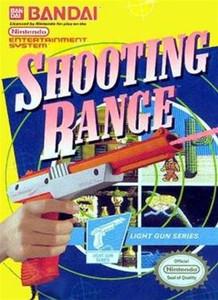 Complete Shooting Range Light Gun Game - NES