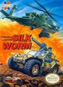 Complete Silk Worm - NES