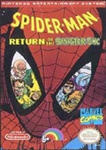 Complete Spider-Man:Return Sinister Six - NES