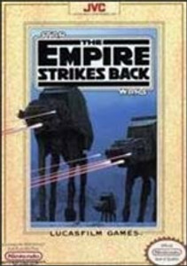 Complete Star Wars:The Empire Strikes Back - NES
