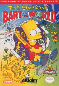 Complete The Simpsons:Bart VS The World - NES