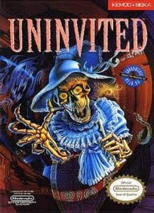 Complete Uninvited - NES