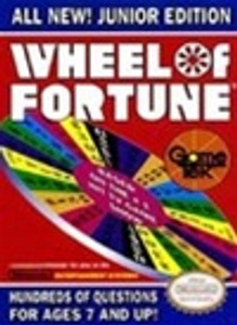 Complete Wheel of Fortune: Jr. Edition - NES