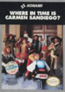 Complete Where in Time is Carmen Sandiego? - NES