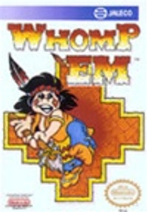 Complete Whomp Em - NES